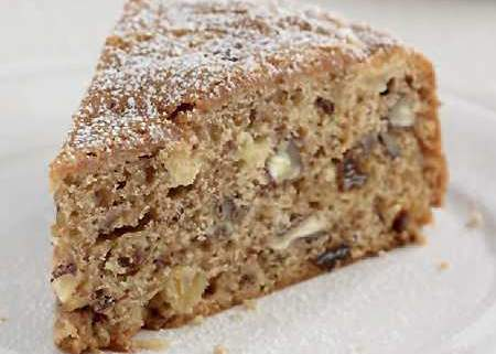 amazin' raisin apple pecan cake