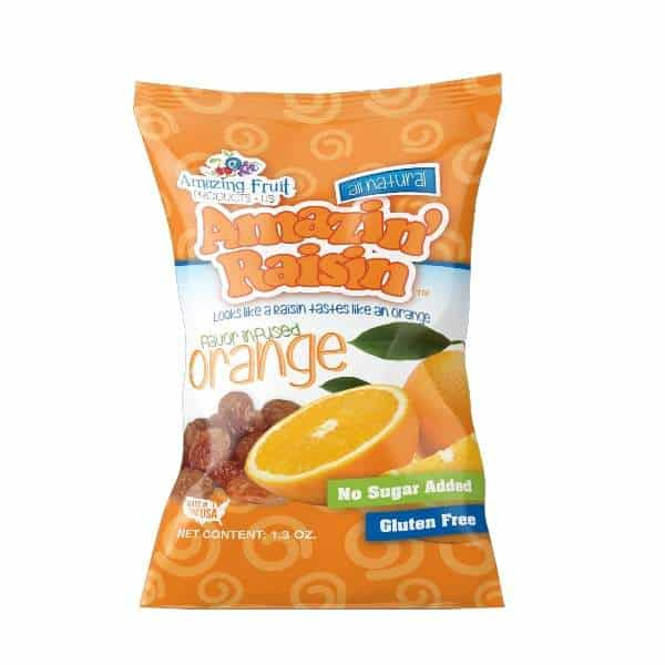 amazin' raisin orange