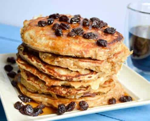 amazin' raisin orange raisin pancakes recipe