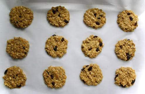 amazin' raisin orange spiced oatmeal raisin cookies