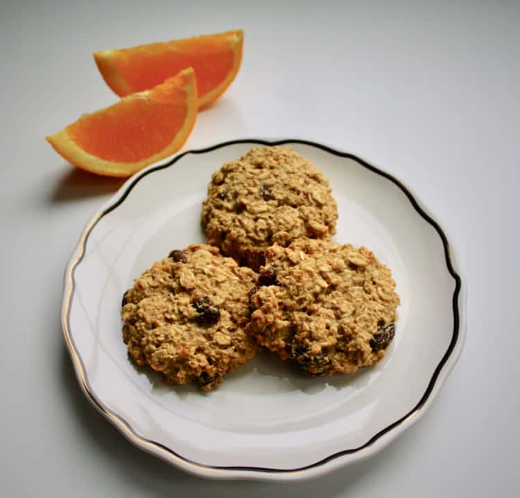amazin' raisin orange spiced oatmeal raisin cookies