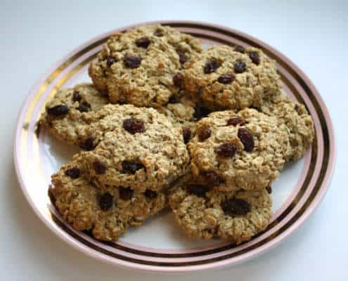 amazin' raisin pina colada cookies